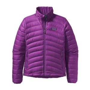 Patagonia Quilted Purple Jacket size L